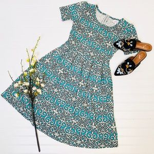 LuLaRoe Damask Amelia Dress